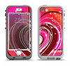 The Large Deep Pink Heart Apple iPhone 5-5s LifeProof Nuud Case Skin Set