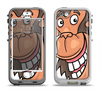 The Laughing Vector Chimp Apple iPhone 5-5s LifeProof Nuud Case Skin Set