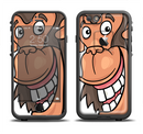 The Laughing Vector Chimp Apple iPhone 6/6s LifeProof Fre Case Skin Set