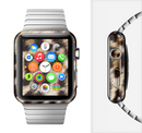 The Leopard Furry Animal Hide Full-Body Skin Set for the Apple Watch