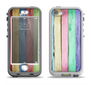 The Light Color Planks Apple iPhone 5-5s LifeProof Nuud Case Skin Set