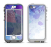 The Magical Abstract Pink & Blue Floral Apple iPhone 5-5s LifeProof Nuud Case Skin Set
