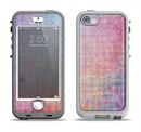 The Messy Water-Color Scratched Surface Apple iPhone 5-5s LifeProof Nuud Case Skin Set