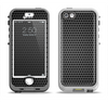 The Metal Grill Mesh Apple iPhone 5-5s LifeProof Nuud Case Skin Set