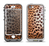 The Mirrored Leopard Hide Apple iPhone 5-5s LifeProof Nuud Case Skin Set