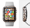 The Mirrored Leopard Hide Full-Body Skin Set for the Apple Watch