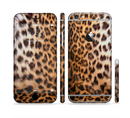 The Mirrored Leopard Hide Sectioned Skin Series for the Apple iPhone 6/6s Plus