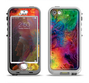 The Mixed Neon Paint Apple iPhone 5-5s LifeProof Nuud Case Skin Set