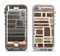 The Multicolored Stone Wall V4 Apple iPhone 5-5s LifeProof Nuud Case Skin Set