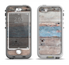 The Multicolored Tinted Wooden Planks Apple iPhone 5-5s LifeProof Nuud Case Skin Set