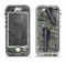 The Nailed Mossy Wooden Planks Apple iPhone 5-5s LifeProof Nuud Case Skin Set