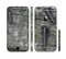 The Nailed Mossy Wooden Planks Sectioned Skin Series for the Apple iPhone 6/6s Plus