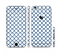 The Navy & White Seamless Morocan Pattern V2 Sectioned Skin Series for the Apple iPhone 6/6s Plus