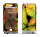 The Neon Blurry Translucent Flowers Apple iPhone 5-5s LifeProof Nuud Case Skin Set