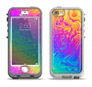 The Neon Color Fushion V2 Apple iPhone 5-5s LifeProof Nuud Case Skin Set