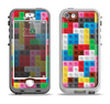 The Neon Colored Building Blocks Apple iPhone 5-5s LifeProof Nuud Case Skin Set