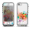 The Neon Colored Watercolor Branch Apple iPhone 5-5s LifeProof Nuud Case Skin Set