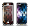 The Neon Glowing Grill Mesh Apple iPhone 5-5s LifeProof Nuud Case Skin Set