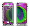 The Neon Peacock Feather Apple iPhone 5-5s LifeProof Nuud Case Skin Set