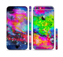 The Neon Splatter Universe Sectioned Skin Series for the Apple iPhone 6/6s Plus
