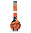 The Oil Pastel Lake Sunset Skin Set for the Beats by Dre Solo 2 Wireless Headphones