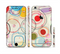 The Open Vintage Vector Swirls Sectioned Skin Series for the Apple iPhone 6/6s Plus
