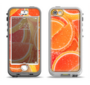 The Orange Candy Slices Apple iPhone 5-5s LifeProof Nuud Case Skin Set