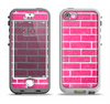 The Pink Brick Wall Apple iPhone 5-5s LifeProof Nuud Case Skin Set