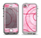The Pink Chain Stitch Apple iPhone 5-5s LifeProof Nuud Case Skin Set