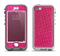 The Pink Fabric Apple iPhone 5-5s LifeProof Nuud Case Skin Set