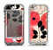 The Pink Nature Layered Pattern V1 Apple iPhone 5-5s LifeProof Nuud Case Skin Set