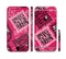 The Pink Patched Animal Print Sectioned Skin Series for the Apple iPhone 6/6s Plus