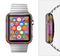 The Pink, Red and Green Drop-Shapes Full-Body Skin Set for the Apple Watch