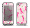 The Pink Ribbon Collage Breast Cancer Awareness Apple iPhone 5-5s LifeProof Nuud Case Skin Set