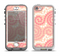 The Pink Spiral Polka Dots Apple iPhone 5-5s LifeProof Nuud Case Skin Set