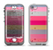 The Pink Water Stripes Apple iPhone 5-5s LifeProof Nuud Case Skin Set