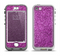 The Purple Glitter Ultra Metallic Apple iPhone 5-5s LifeProof Nuud Case Skin Set