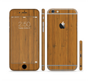 The Real Bamboo Wood Sectioned Skin Series for the Apple iPhone 6/6s Plus