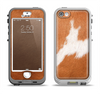 The Real Brown Cow Coat Texture Apple iPhone 5-5s LifeProof Nuud Case Skin Set