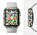 The Real Leopard Hide V3 Full-Body Skin Set for the Apple Watch