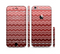 The Red Gradient Layered Chevron Sectioned Skin Series for the Apple iPhone 6/6s Plus