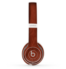 The Red Mahogany Wood Skin Set for the Beats by Dre Solo 2 Wireless Headphones