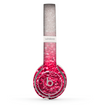 The Red & Silver Glimmer Fade Skin Set for the Beats by Dre Solo 2 Wireless Headphones