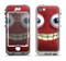 The Red Smiling Fuzzy Wuzzy Apple iPhone 5-5s LifeProof Nuud Case Skin Set