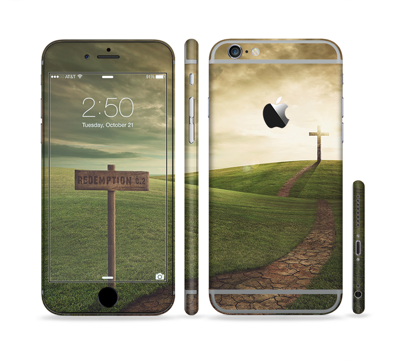 The Redemption Hill Sectioned Skin Series for the Apple iPhone 6/6s Plus