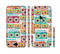 The Retro Boombox Pattern Sectioned Skin Series for the Apple iPhone 6/6s Plus