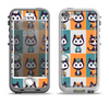 The Retro Cats with Accessories Apple iPhone 5-5s LifeProof Nuud Case Skin Set