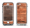 The Rich Wood Planks Apple iPhone 5-5s LifeProof Nuud Case Skin Set