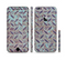 The Rusted Blue Diamond Plate Sectioned Skin Series for the Apple iPhone 6/6s Plus
