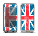 The Scratched Surface London England Flag Apple iPhone 5-5s LifeProof Nuud Case Skin Set